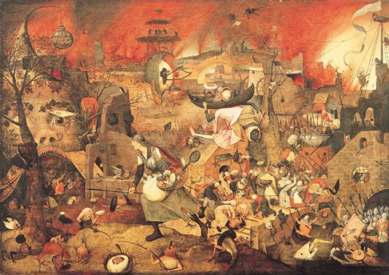 Bruegel the Elder, Pieter: Dulle Griet/Mad Meg. Fine Art Print/Poster. Sizes: A4/A3/A2/A1 (003569)